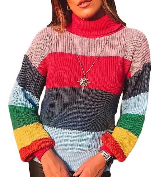 Trico Feminino Tricot Roupa Blusa Croche Melhor Preço Lançam