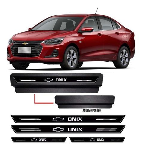 Soleira Protetora Porta Premium Onix Plus Sedan 2020 2021