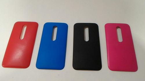 Tapa Trasera Motorola Moto G3 Original Colores Fotos