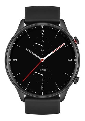 "Smartwatch Amazfit Fashion GTR 2 Sport Edition 1.39"" caja 46.4mm de  aleación de aluminio malla  obsidian black de  silicona A1952"