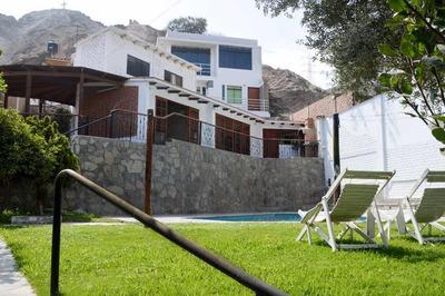 Alquiler De Casa En Cieneguilla.