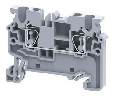 Borne Conector De Passagem 2.5mm Mola 40pçs + 10 Tamp