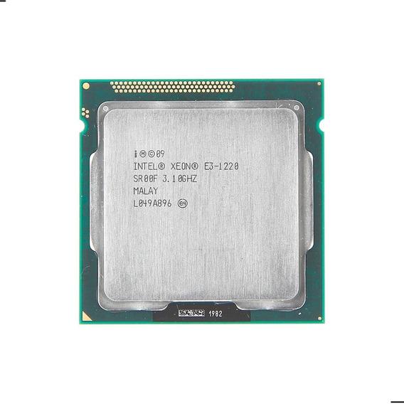 Procesador Intel Xeon E3 1220 4 Núcleos Socket 1155 Servidor