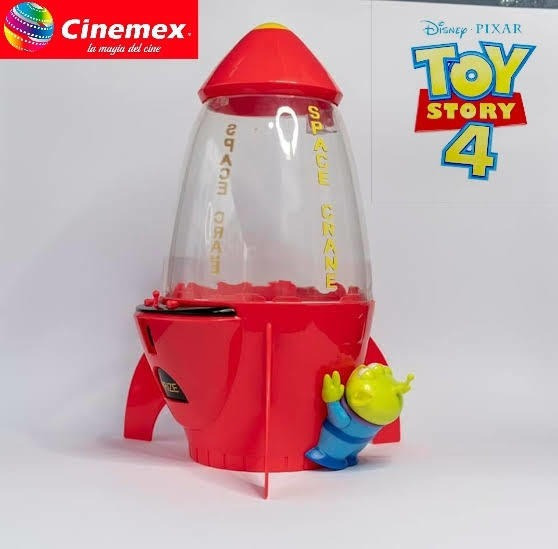 Palomera Toy Story 4 Cinemex