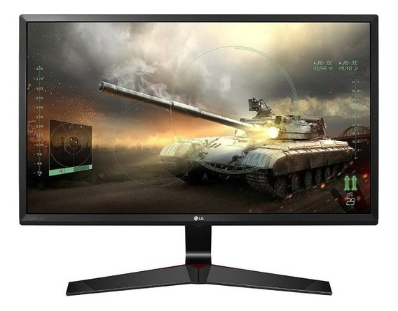 "Monitor LG 24MP59G LED 24"" negro 110V/220V"