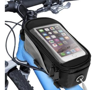 Bolso Porta Celular Impermeable Moto/bici Nmhc18