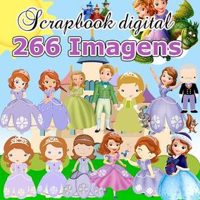 Scrapbook Digital Princesa Sofia - Receba Em 1 Minuto