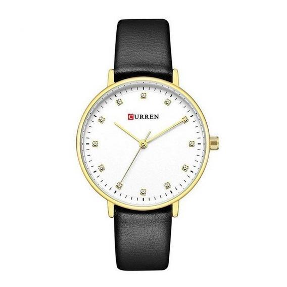 Relógio Feminino Curren Analógico C9023l Preto