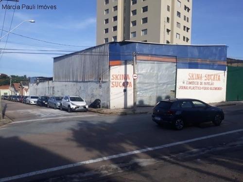Imagem 1 de 12 de Galpão Industrial/comercial No Centro De Jundiaí. - Gl00128 - 69555917