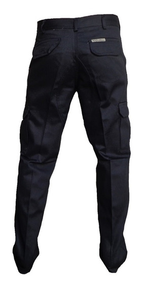 Pantalon Cargo Hombre Trabajo Grafa Gabardina Explora Oferta