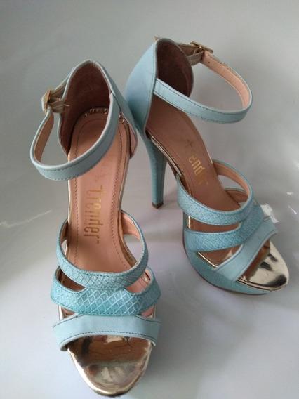 Sandalias Azul Bebé Trender