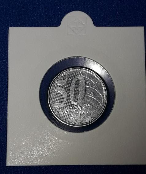 Moeda 50 Centavos 2006 - Cunho Gasto