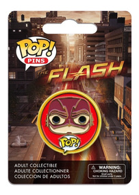 The Flash - Dc Comics - Broche Bottons - Funko Pop! Pins