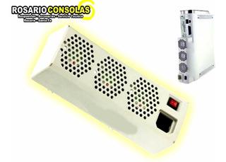 Intercooler Para Xbox 360 X3 Ventiladores Fat Arcade Rosario
