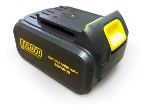 Imagen 1 de 5 de Bateria 18v 4.0 Ah Barovo Inalambrico Bat4000