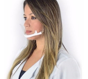 Mascara Higienica Profissional Anti Salivar Para Estetica E