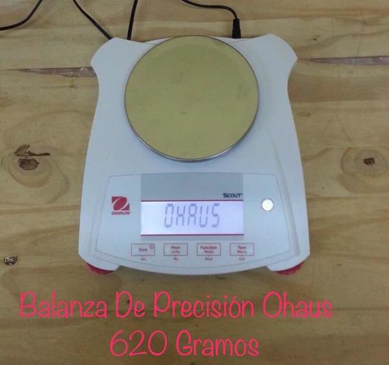 Báscula Balanza De Presicion 620g Ohaus Scout Spx622