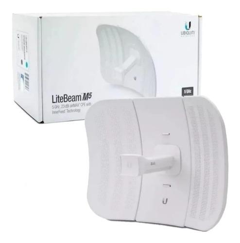 Litebeam Airmax M5 Cpe 100 Mbps 5 Ghz 23 Dbi Lbe-m5-23 Wisp
