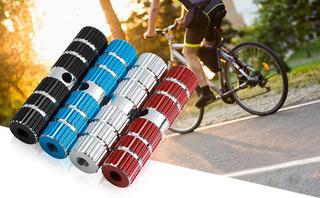 Pedalines Posa Pies Bicicleta Eastman De Aluminio Finos Rojo - Racer Bikes
