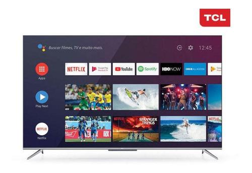 Imagem 1 de 3 de Smart Tv Tcl 65  P715 4k Uhd Android Com Comando De Voz
