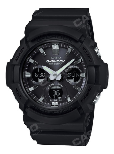 Reloj Casio G-shock Youth Gas-100b-1a Big Case Solar