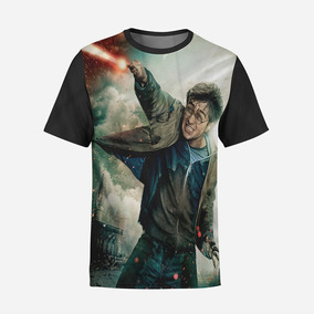 Camiseta Básica Harry Potter Hogwarts Geek Gryffind