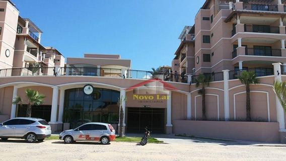 Apartamento Duplex Com 3 Dormitórios À Venda, 136 M² Por R$ 800.000 - Porto Das Dunas - Aquiraz/ce - Ad0001