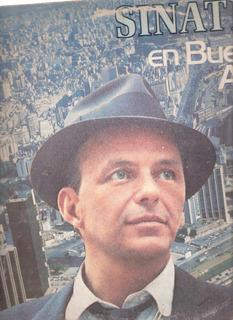 Disco Lp Vinilo . Frank Sinatra En Buenos Aires Canje