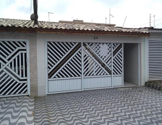 Casa Com 2 Dormitórios À Venda, 75 M² Por R$ 290.000 - Solemar - Praia Grande/sp - Ca1466