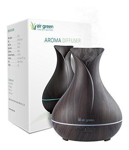 Aire Del Difusor Del Aroma Verde - Vapor Frío Ultrasónico Io