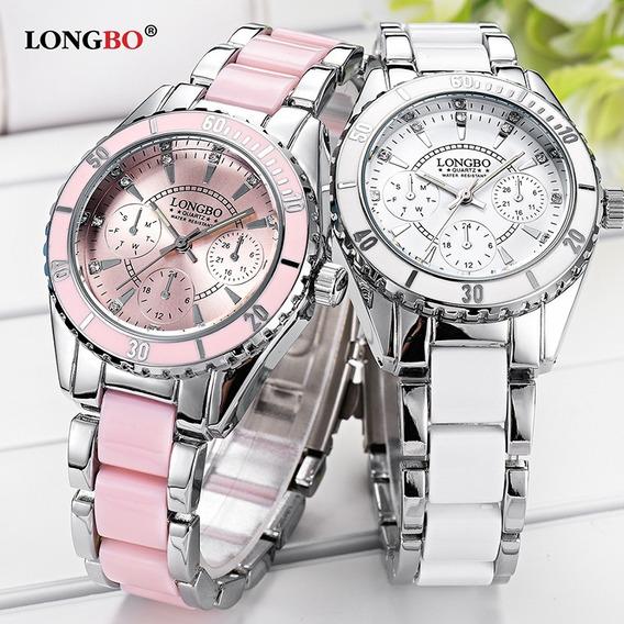 Relógio Longbo 80303 Feminino Esportivo