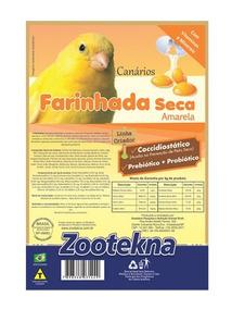 Farinhada Seca Premium Fso50 Amarela - 1 Kg