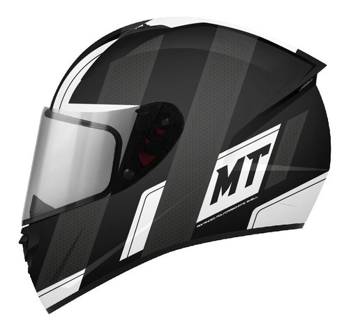 Casco Mt Para Moto / Mt Helmets Stinger / Affaire Blanco