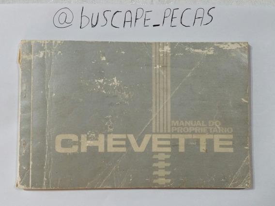 Manual Proprietário Chevette