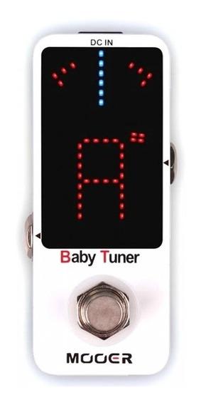 Pedal Mooer Baby Tuner | Afinador | Guitarra Baixo Violão