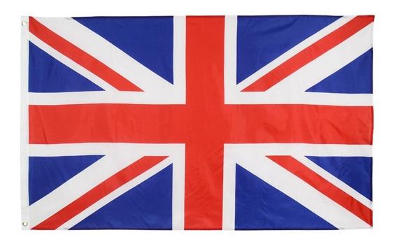 Bandera De Reino Unido Uk 90 X 60 Cm Coleccion E-062