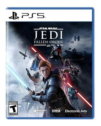 Imagen 1 de 7 de Star Wars Jedi Fallen Order Ps5 Juego Fisico Sellado Nuevo