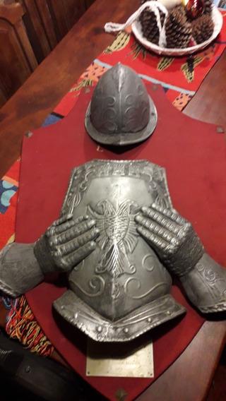 Escudo De Armas Medieval Pechera Casco