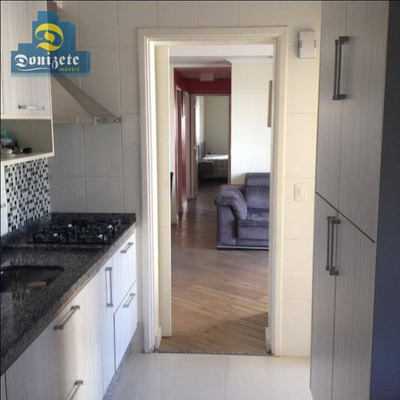 Apartamento Residencial À Venda, Bairro Jardim, Santo André. - Ap9824