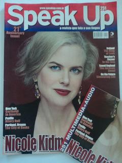 Revista:speak Up:vol.251:+cd:nicole Kidman:inglês