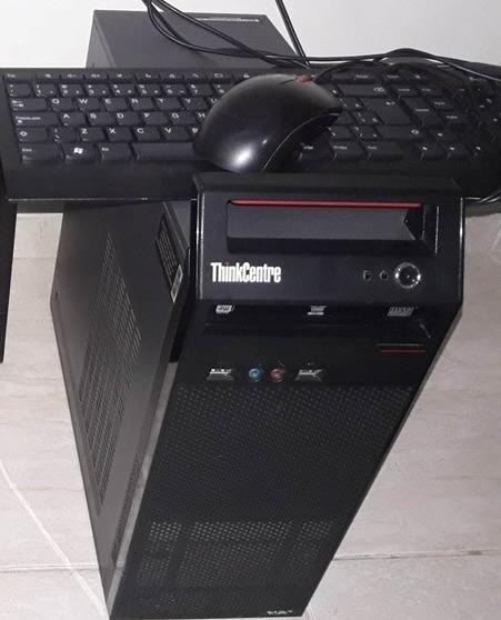 Pc Lenovo A70 Dual Core 2gb Ram 320gb Hd + Mouse Teclado