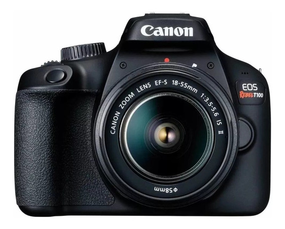 Câmera Digital Canon Eos Rebel T100 Tela Lcd 2.7