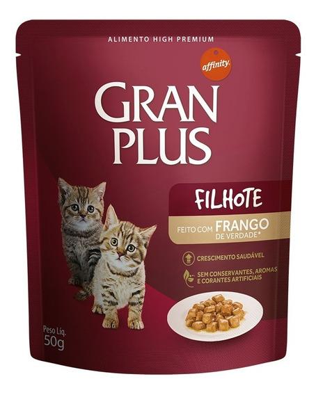 Ração Úmida Granplus Para Gatos Filhotes Sachê - 50g