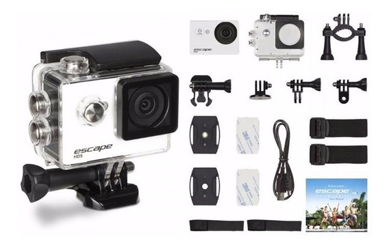 Action Camera Escape Hd 720p - 30fps