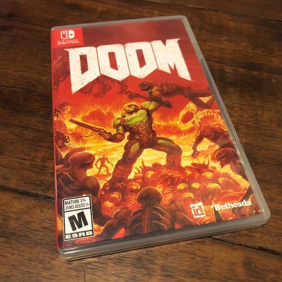Doom Nintendo Switch Mídia Física