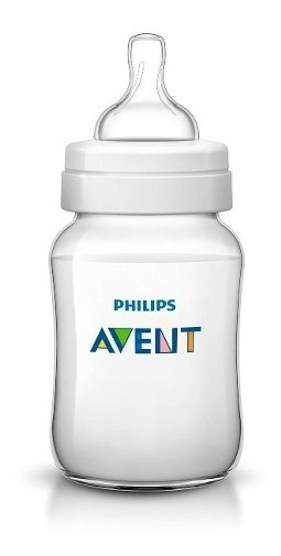 Set 2 Mamaderas Avent Philips Classic De 260 Ml