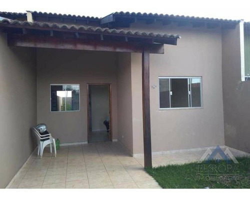Imagem 1 de 10 de Casa Com 3 Dormitórios À Venda, 81 M² Por R$ 190.000,00 - Jardim Padovani - Londrina/pr - Ca0740
