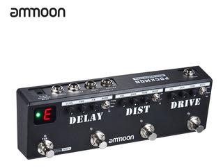 Pedal De Multiefecto Ammoon Pockmon N.° 1
