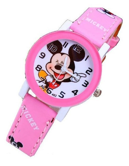 Relógio De Pulso Mickey Mouse Disney Infantil Várias Cores