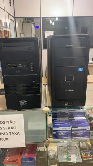Comoutador Core 2 Duo, 4gb De Memória , Hd 320gb